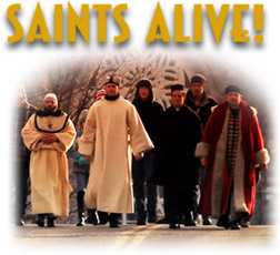 SAINTS ALIVE!